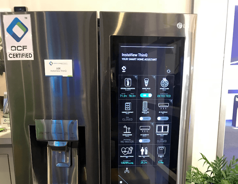 Smart Fridge CES2018